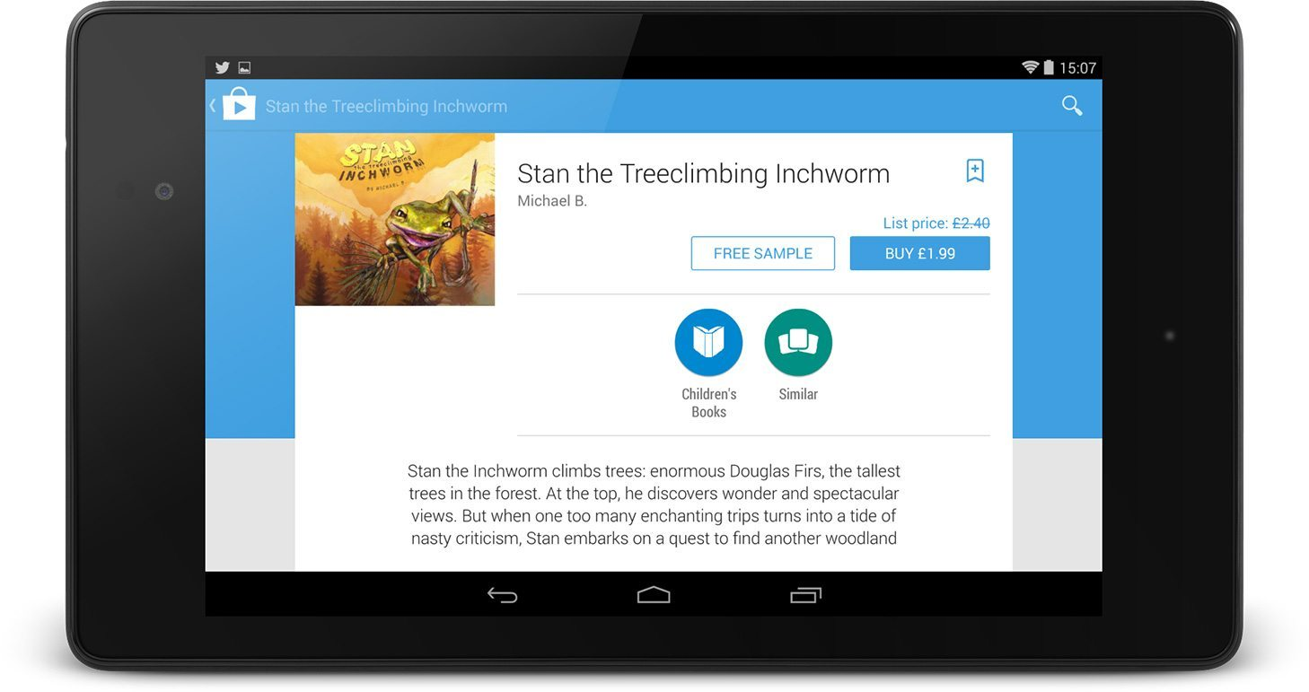 Stan the Treeclimbing Inchworm on Google Play