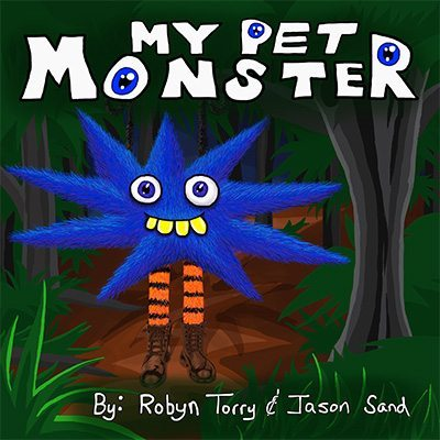 My Pet Monster Book front cover