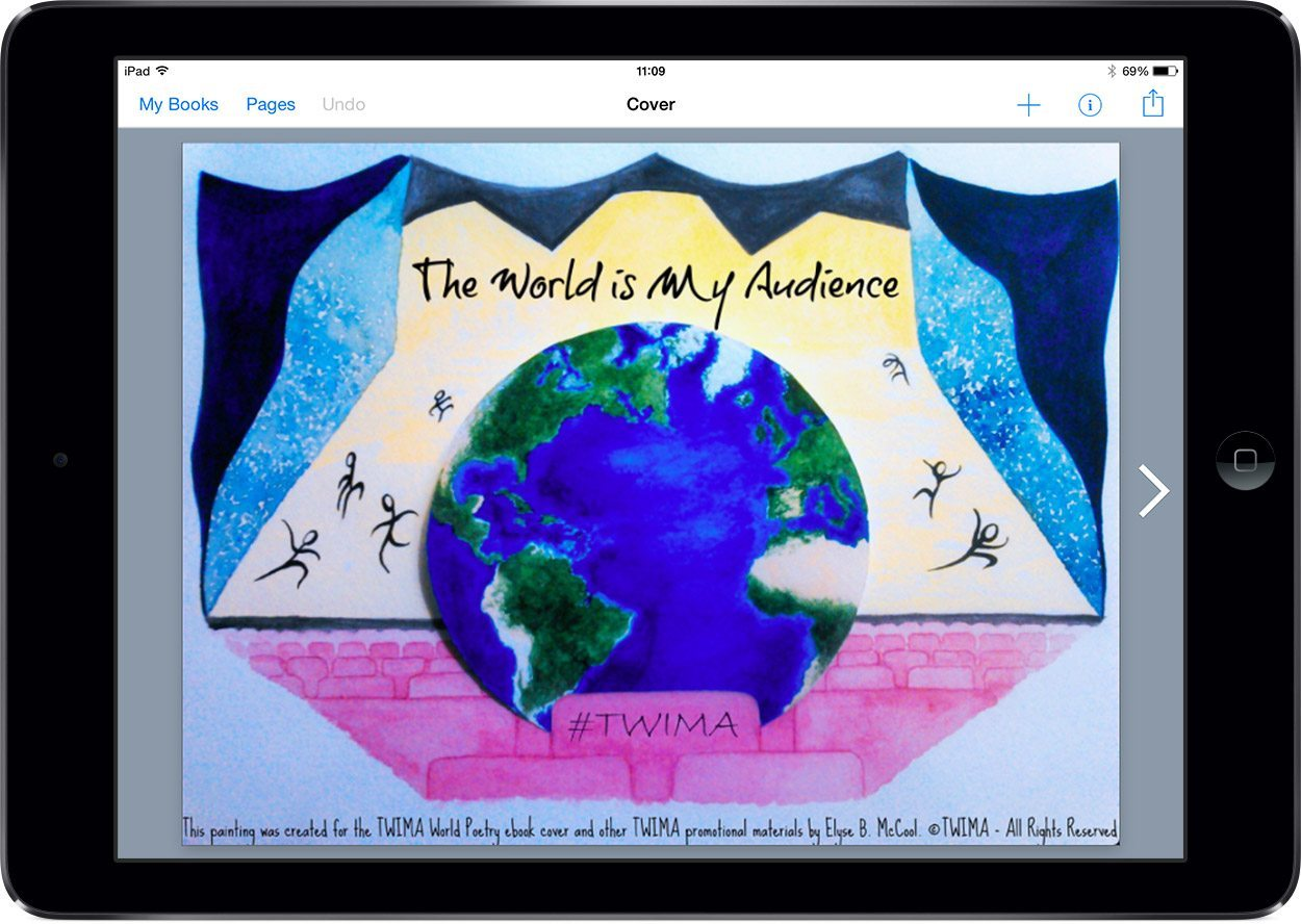 The World is My Audience - front cover