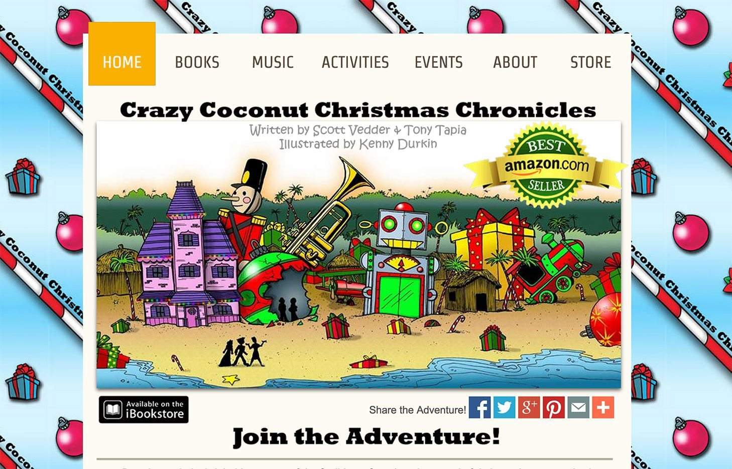Crazy Coconut Christmas Chronicles