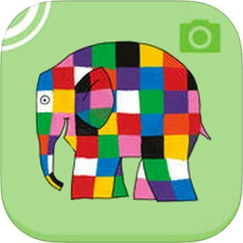 Elmer the Patchwork Elephant app icon