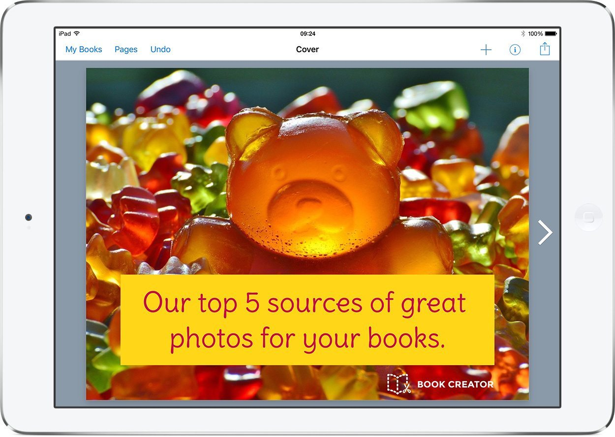 Our top 5 sources of great photos for your books