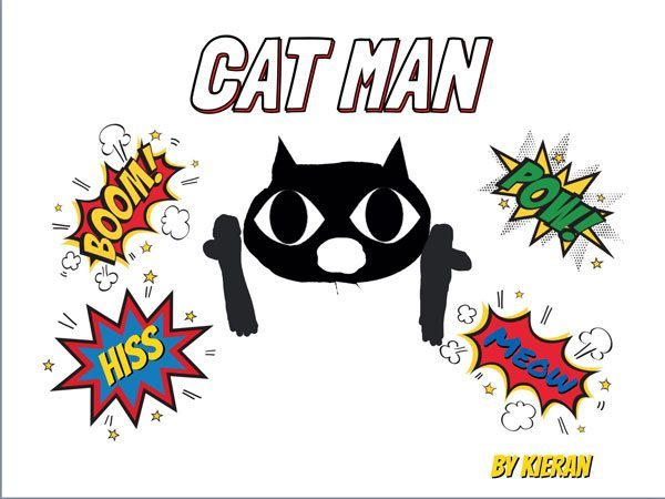 Cat Man front cover