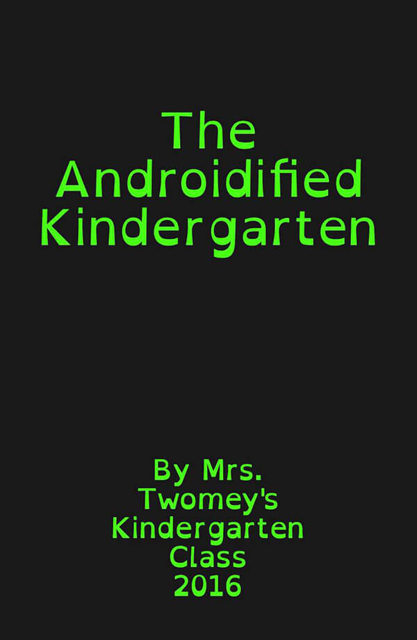Androidified Kindergarten - cover page