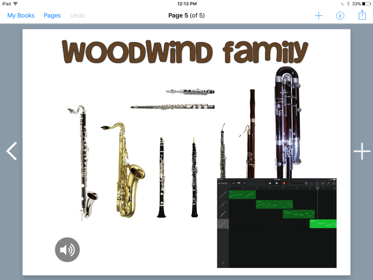 Woodwind family page