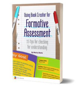 Front cover of Using Book Creator for Formative Assessment