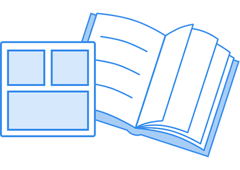 Book layout options
