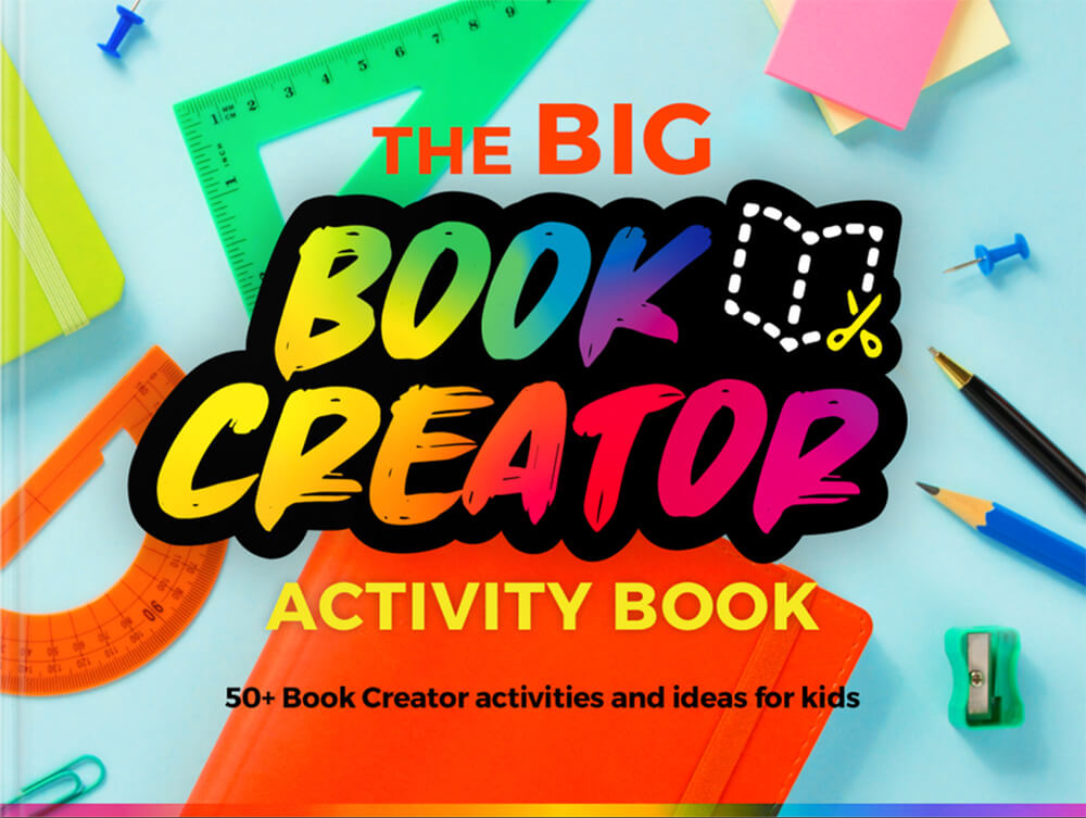 The Big Book Creator Activity Book front cover