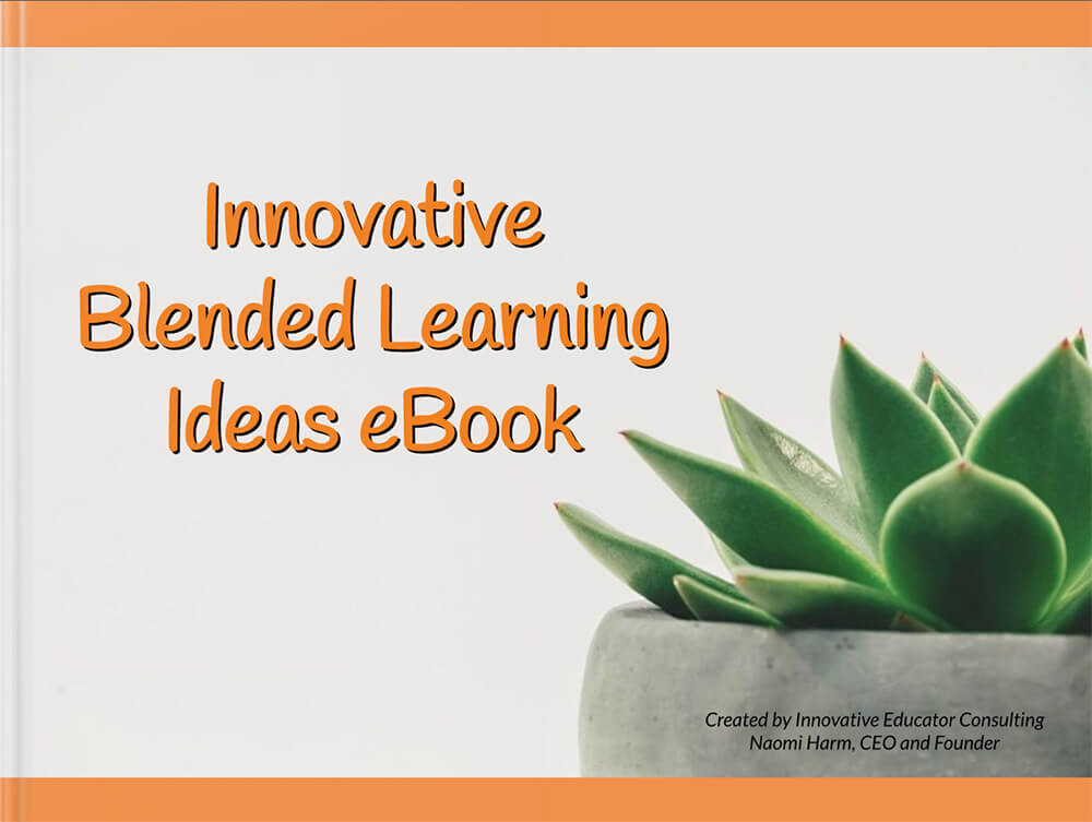 Innovative Blended Learning Ideas ebook front cover